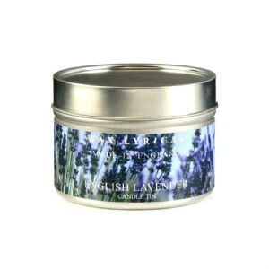 English Lavender TIN Made In England Scented Candles Wax Lyrical 16 Hours